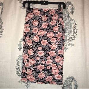 Love Culture • Floral Body Con Skirt